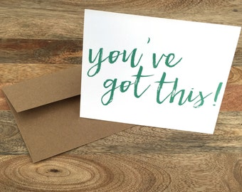 You've Got This - Cancer Card