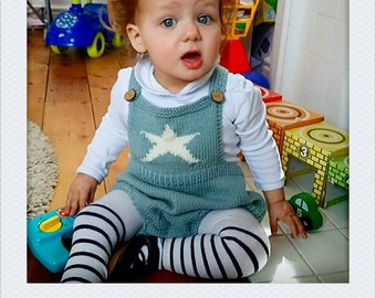 Baby clothes, baby romper, toddler clothes, toddler outfit, sunsuit, Baby clothing, romper suit, knitted onesie,  18-24 months,made to order