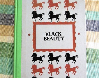 Vintage 1954 Black Beauty by Anna Sewell - Autobiography of a horse