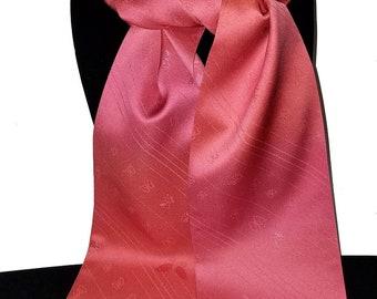 Kimono Scarf S8548 - pink butterflies
