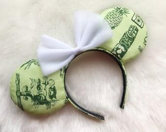 Adventure land Ears | Disneyland Ears | Disney World Ears | Jungle Cruise Ears | Disney Ears | Mickey Ears | Minnie Ears