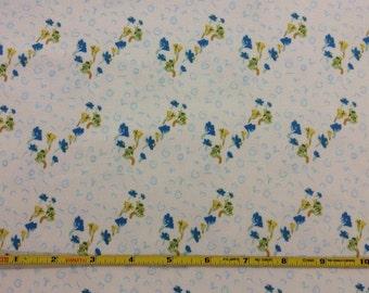 NEW Art Gallery Bous Trail Bluet  on cotton Lycra  knit fabric 1 yard
