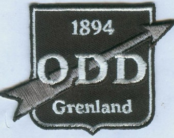 Odds Ballklubb BK Norwegian Norway Football Soccer Badge Embroidered Patch