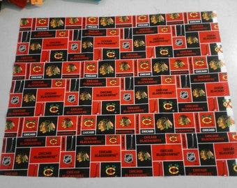 Chicago Blackhawks fabric 250213