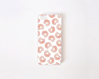 iPhone 5/5s Case - Donuts iPhone Case - iPhone 5s case - iPhone 5 case - Hard Plastic or Rubber