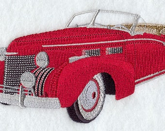 Classic 1940 Cadillac 62 Embroidered Cotton Terry, Bath, Spa, Resort Wrap. Gift for Him..Fathers Day..