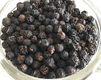 Madagascar Black Peppercorns