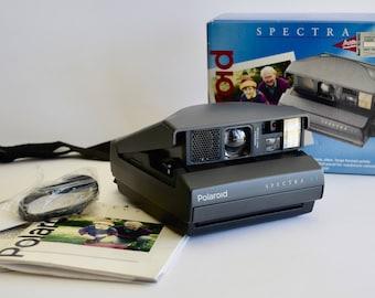 Vintage Polaroid SPECTRA AF Instant Camera In Original Box Untested