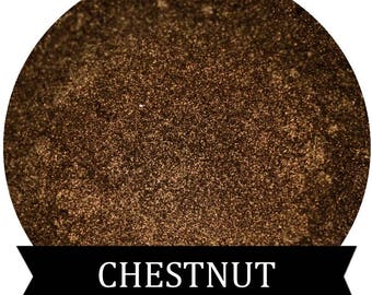 CHESTNUT Shimmery Golden Brown Eyeshadow