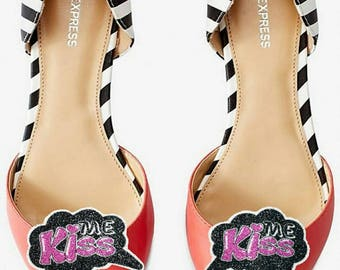 Kiss Me - shoe clips