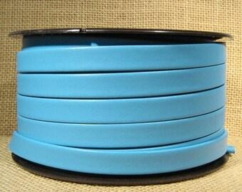 25% Off 10mm Regaliz Premier Flat Leather - Turquoise - 10M-P9 - Choose Your Length