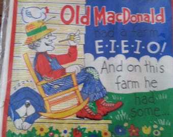 Old MacDonald Soft Songbook Kit Children Toddlers Playschool Birthday Gift