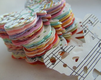 100,Paper butterflies, MIX, confetti, scrap booking, paper craft, card making, tags, , by DoodleDee2
