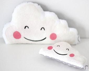 Happy Cloud  Rattle