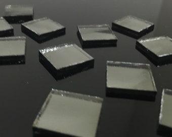 GUNMETAL GREY MIRROR Colored Glass Mirror Mosaic Tile Supply M1/