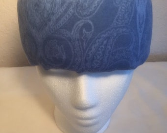 Freezeit! Migraine Headwraps - Blue Flannel