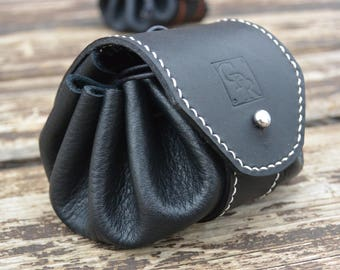 Wallet purse leather (Lamb and calf)