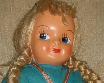 Doll - Polish - Mask Face Doll - Vintage