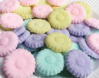 Spring Sugar Cube DAISIES for Tea Party | Weddings | Baby Showers and Birthday Party Decorations