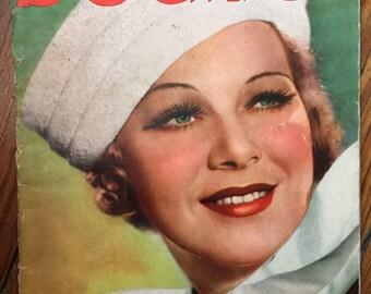 "Erotic french magazine ""Beautés"" (Beauties) 1937"