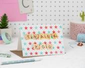 Thank You Card, Stars Tha...