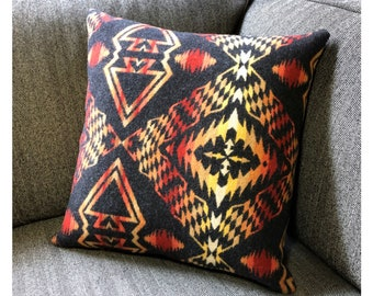 Throw Pillow Made with Pendleton Wool