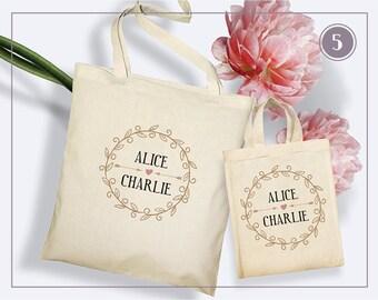 Tote Bag Mariage - 5 Modèles à personnaliser