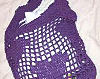 Crochet Tote Bag Pattern, Be My Valentine