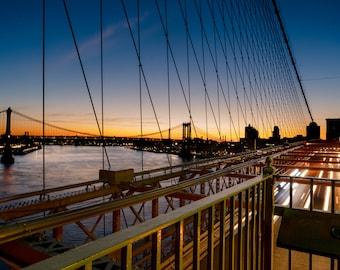 Brooklyn Bridge Sunrise 1