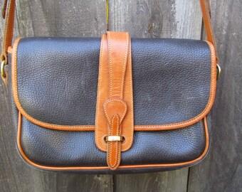 Dooney & Bourke All Weather Leather Equestrian Cross Body Bag
