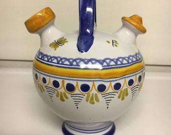 Talavera Mexican Pottery Pitcher Small