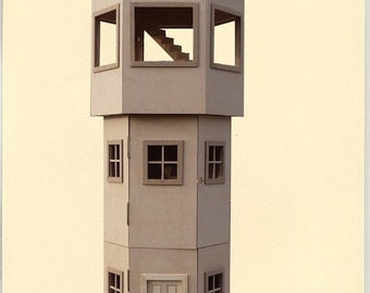 Water Tower dollhouse kit 1/12 scale