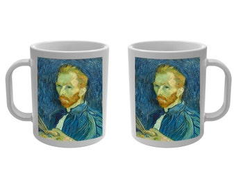 Mug Cup self-portrait of Vincent Van Gogh