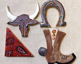 Southwestern Handmade Ceramic Mosaic Tile Pack