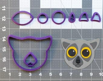 Lemur 266-727 Cookie Cutter Set