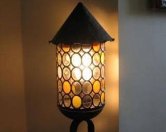 Old table lamp, original, from the 40s ...