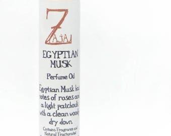 Egyptian Musk Perfume Oil By ZAJA Natural