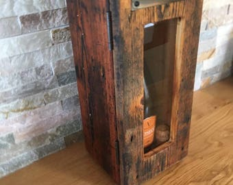 Reclaimed wine box
