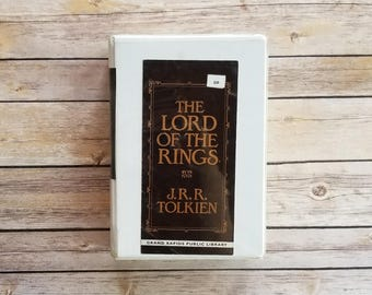 LOTR On Tape BBC Radio The Lord Of The Rings Audiobook On Cassette Tape JRR Tolkien Lord Of The Rings Gift Book On Tape Tolkien Gift Nerd