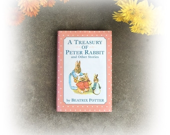 Peter Rabbit and Other Stories with dust jacket,very good condition, Beatrix Potter, Christmas Gift
