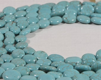 Magnesite 10x8x3.6mm Natural Gemstone Bead Supply Bead Strand Bead Supplies