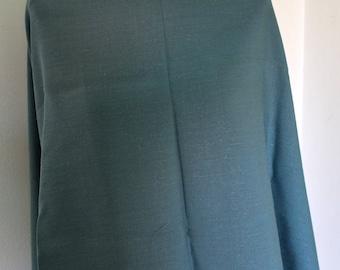 100% Blue linen fabric