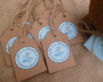 Handmade Gift Tag. Personalized Gift Tag.