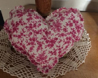decorative fabric heart
