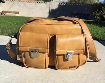 Vintage Marsand leather train case