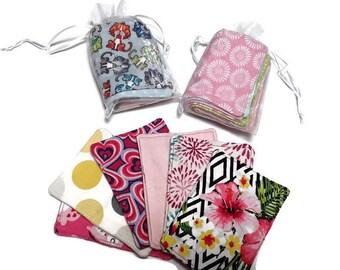 Make-up Entferner Pads, wiederverwendbare Set von 6, Recycling-Pads, einfache Geschenk für Cubbie Mate, Kleinigkeit für Nachbarn