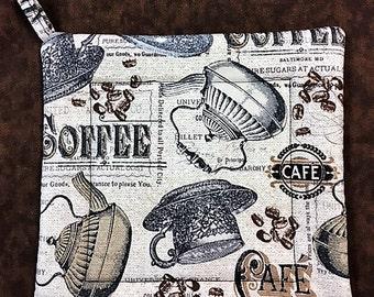 Coffee Square Pot Holder