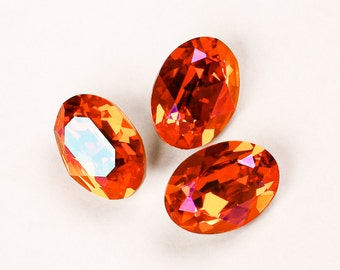 18x13mm ASTRAL PINK Swarovski Oval Fancy Stones Article 4120