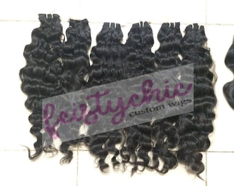Raw Indian Hair -Curly