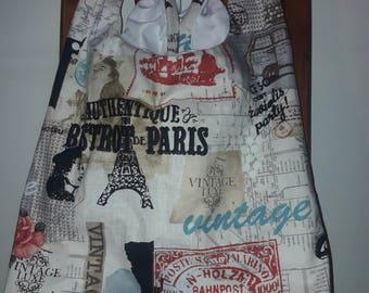Vintage Paris Grocery Bag